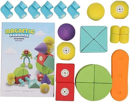 Zerodis- Blocs de Construction Magnétique Jeu de Stratégie Jeux de Plateau Jouets Puzzle Educatifs pour Bébé Fille Garçon