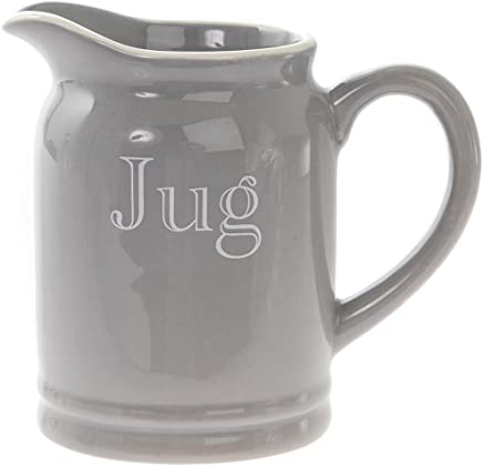 Preisvergleich für Leonardo klein, grau Keramik Classic Milch Sahnekännchen