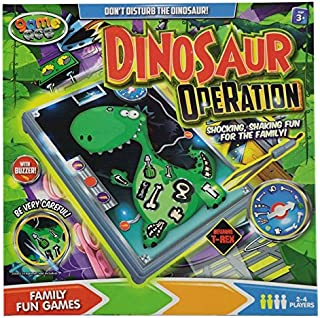 Holland Plastics Original Brand Dinosaur Operation!! A Modern Twist on The Classic Game of Operation!! Fun for All The Family!