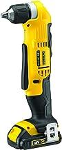 DeWalt 18V Cordless Right Angle Drill, Yellow/Black, 10 mm, DCD740C1-GB