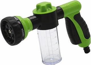 TAKPART Druktuinslang mondstuk schuimpistool auto wassen 8 patroon verstelbare schuimsproeier