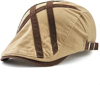 20e25046d29 GADIEMENSS Vintage Duckbill Hats Casual Newsboy Hat 100% Cotton