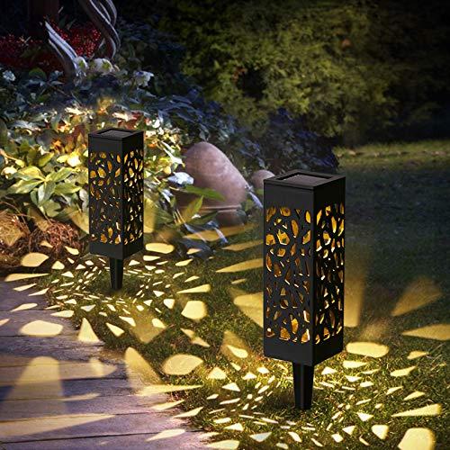 Görvitor Solarleuchten Garten, Solarlampen für Außen 2 pack