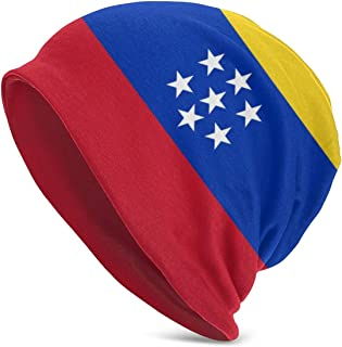 Tina66jj3 Venezuela Flag Skull Caps Helmet Liner Cooling Caps Sweat Wicking Cycling Beanie Caps Chemo Caps Dry Fit Sports Running Hat for Men Women Helmet Hard Hats