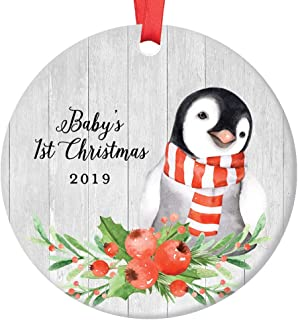 Best baby's first christmas penguin ornament Reviews