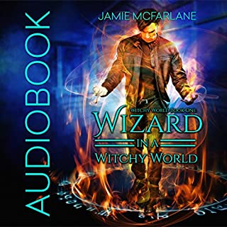 Wizard in a Witchy World audiobook cover art