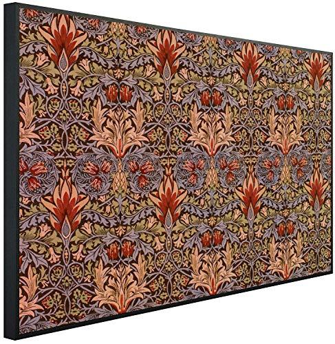 Ecowelle Infrarotheizung mit Bild | 600 Watt | 60x100 cm | Infrarot Heizung| | Made in Germany| h 171 Persischer Karpet
