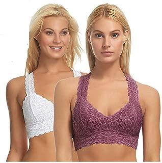 Women's Lace Racerback Bralette (Pack of 2)