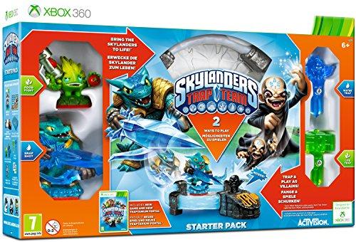 Activision Starter Pack + Skylanders Trap Team giocattolo ibrido, console compatibile: Microsoft Xbox 360