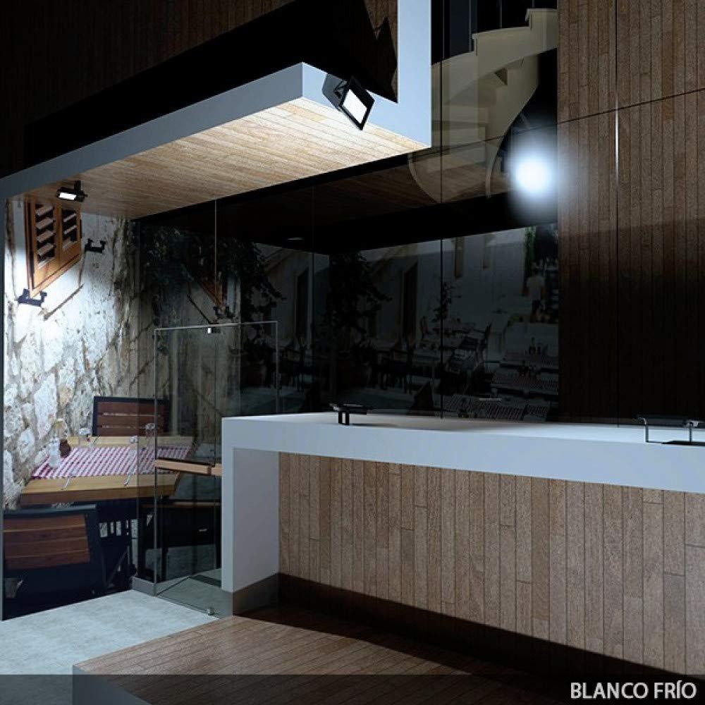 Greenice   Foco Proyector LED IP65 20W 1400Lm 30.000H Ecoline   Blanco Frío: Amazon.es: Iluminación