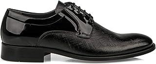 Ziya, Kösele Erkek Hakiki Deri Klasik Ayakkabı 10111 025312