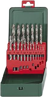 Metabo 627153000 627153000-Estuche metálico 19 piezas broca