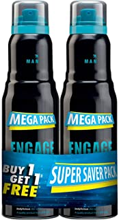 Engage Mate Perfume, 220 ml (Pack of 2)