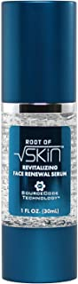 Revitalizing Face Renewal Serum by ROOT OF SKIN | Stem Cell Anti-Aging Serum + Hyaluronic Acid, Amino Peptides, and young skin stem cell extracts | Restores what is lost with age, Style By Science