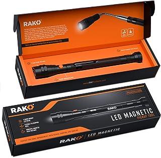 RAK Magnetic Pickup Tool with LED Lights - Telescoping Magnet Pick Up Gadget Tool for Men, DIY Handyman, Father/Dad, Husba...