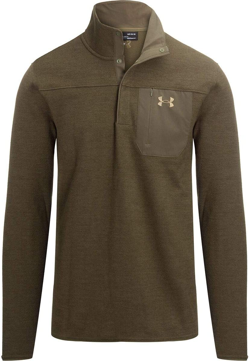 Under Armour Men's Ranking Soldering TOP13 Specialist Grid Henley T-Shirt
