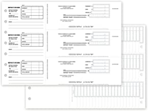 CheckSimple 3 to A Page Custom Manual Deposit Slips - No Duplicates (150 Slips)