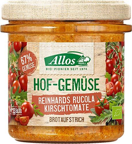 Allos Bio Hof-Gemüse Reinhards Rucola Kirschtomate (6 x 135 gr)