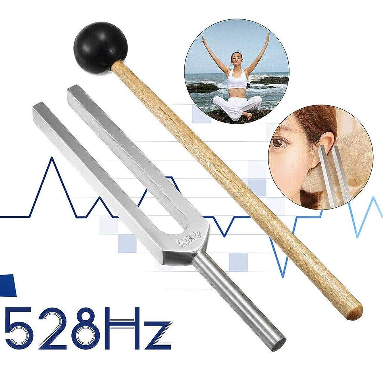 時制熟した壁528 Hz「愛の周波数」奇跡のヒーリングセット周波数音叉