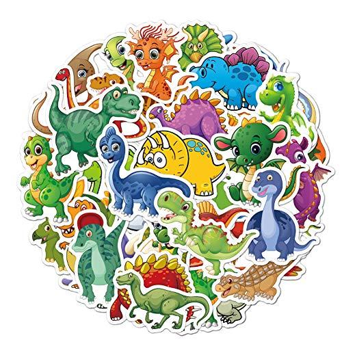 sticker,Aufkleber für Wasserflaschen,Dekorative Aufkleber, Wasserdicht Vinyl Stickers Decals,Dinosaurier Aufkleber,Laptop zufällige Aufkleber Pack,kofferAufkleber,Vinyl-Graffiti-Aufkleber(50 Stück)