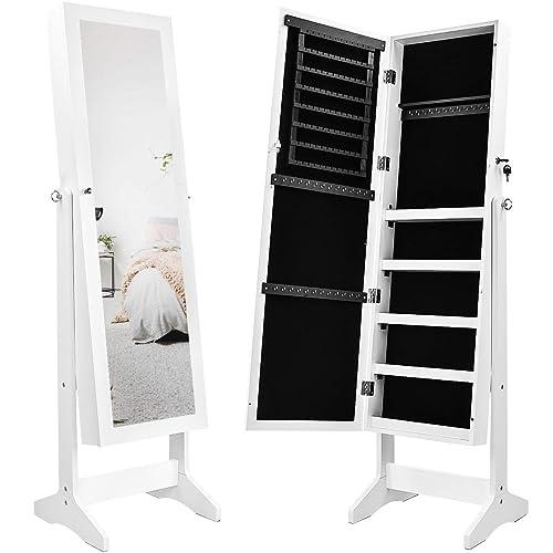 Full Length Mirror With Storage Amazon Co Uk