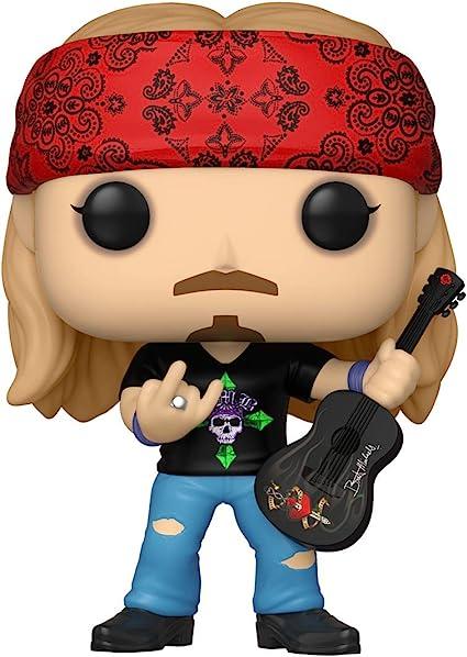 Amazon.com: Funko Pop! Rocks: Bret Michaels (estilos pueden variar): Funko:  Toys & Games