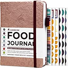 Clever Fox Food Journal Pocket Size – Daily Food Diary, Meal Tracker & Planner for Purse, Calorie and Nutrition Log, for Sticking to a Healthy Diet & Achieving Weight Loss Goals, 4.0x5.5, Rose Gold