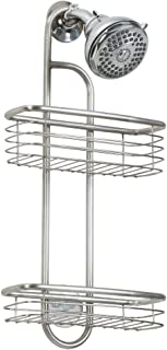 InterDesign Forma Shower Caddy Ÿ?? Bathroom Storage Shelves for Shampoo, Conditioner and Soap, Brushed