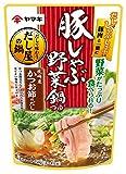 ヤマキ 豚しゃぶ野菜鍋つゆ 袋750g