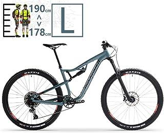 QMMD Adulto Bicicleta Montaña 29 Pulgadas, Bicicleta Doble Suspensión, 12 Velocidades Cuadro Aluminio Bicicleta BTT, Hombres/Mujeres Profesional Bicicleta de Montaña,29 Inch l,12 Speed