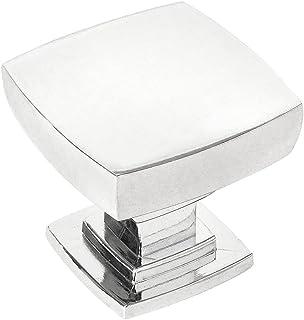 Kitchen Hardware SHKM013-SN-5 Pack of 5 Pack of 5 -Satin Nickel Drawer Pulls Round Southern Hills Brushed Nickel Cabinet Knobs