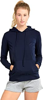 Women's Thin Cotton Pullover Hoodie Sweater