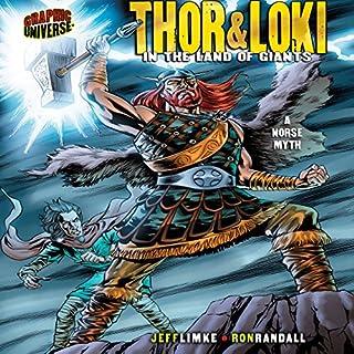 Thor & Loki audiobook cover art