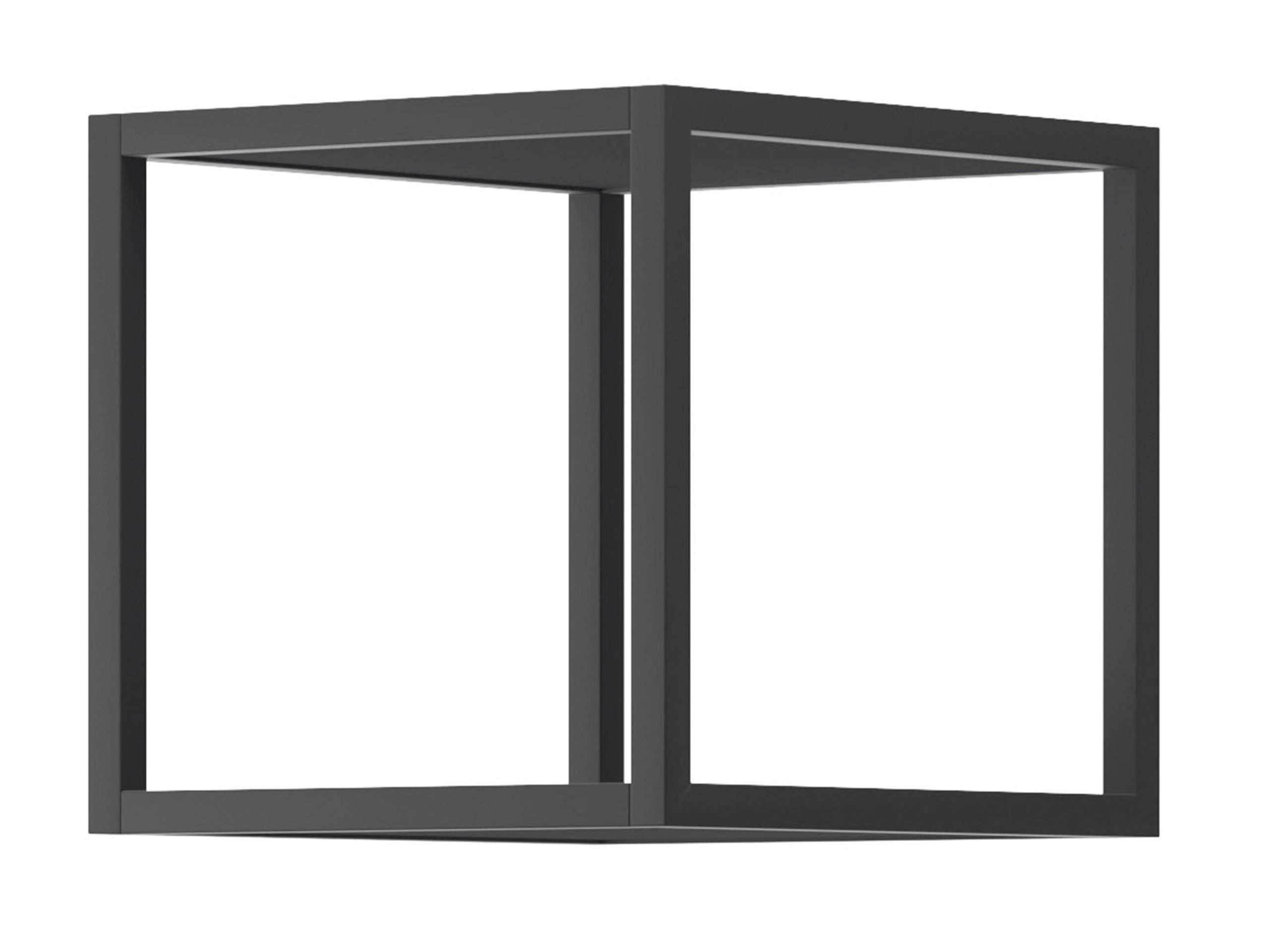Decodelic 4er Set Lounge Regal Cube Retro Style Wandregal Innen