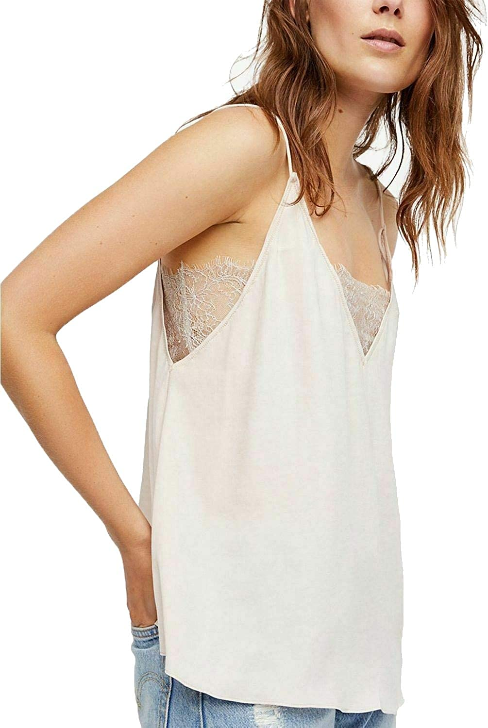 Free People Deep Lace V Cami