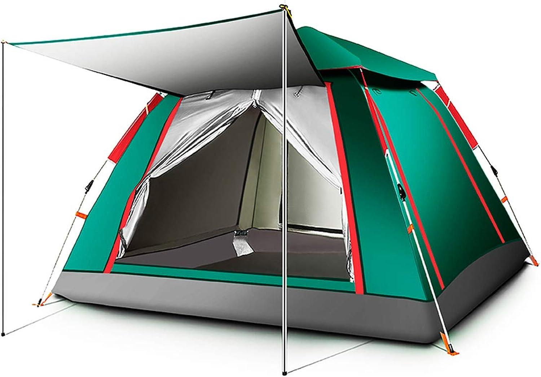 8haowenju Hochwertiges Campingzelt, Kuppel, (geeignet für 5-6 Personen)