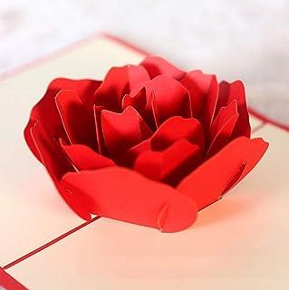 BC Worldwide Ltd handmade 3D pop-up carta di compleanno, festa della mamma, anniversario di matrimonio, invito a una festa...