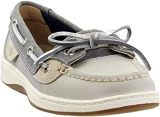 Sperry Womens Angelfish Sparkle Suede Angelfish Size: 9