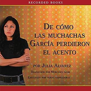 Como las muchachas Garcia perdieron su acento cover art