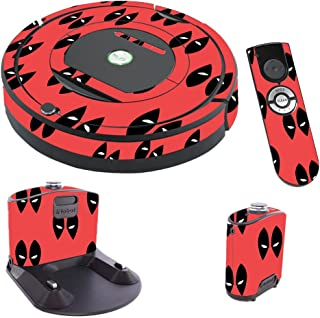 MightySkins Skin Compatible with iRobot Roomba 770 Robot Vacuum - Dead Eyes Pool | Protective, Durable, and Unique Vinyl Decal wrap Cover | Easy to Apply, Remove, and Change Styles | Made in The USA