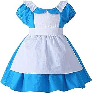 Girls Kids Princess Costume Halloween Cosplay Lolita Party Dress