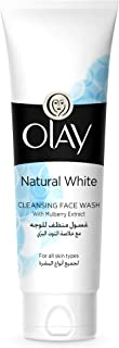 Olay Natural White Cleansing Face Wash For All Skin Types 100g