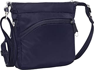 eBags Anti-Theft Mini Crossbody - Small Zipper Lock Bag for Travel and Everyday