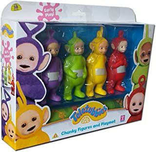 Teletubbies Chunky Family Figures & Playmat Set