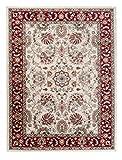 Carpeto Rugs Tappeto 200 x 300 cm Rosso Beige Orientale Classico Ornamenti Emirat Collezione