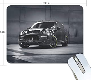 Mouse Pad Porsche Cayenne Techart Porsche Tuning SUV Jeep Customized Rectangle Non-Slip Rubber Mousepad Gaming Mouse Pad Mat 9.8x7.5-inch