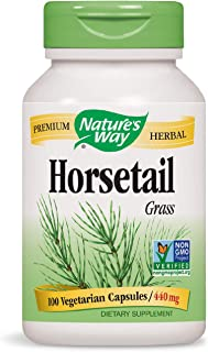 Nature's Way Premium Herbal Horsetail Grass 440 mg, 100 VCaps