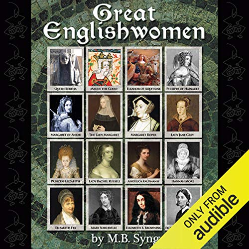 Great Englishwomen  By  cover art