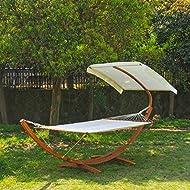 Outsunny Garden Hammock Sunshade Certificated