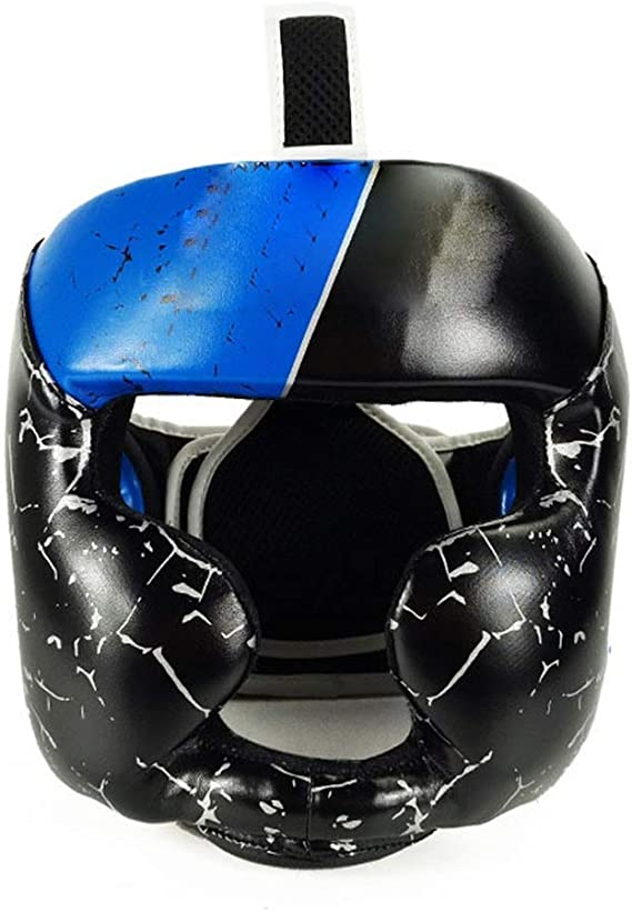 XSRouge Kickboxing Casque Enfants Head Gear Head Guard Unisexe Protecteur t/ête Boxing Head Guard Taekwondo Casque Sport Accessoire Kungfu